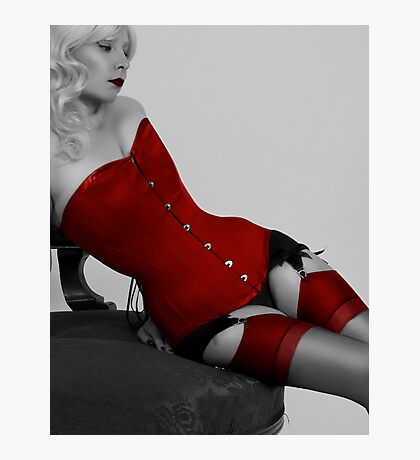 Corset curves Photographic Print