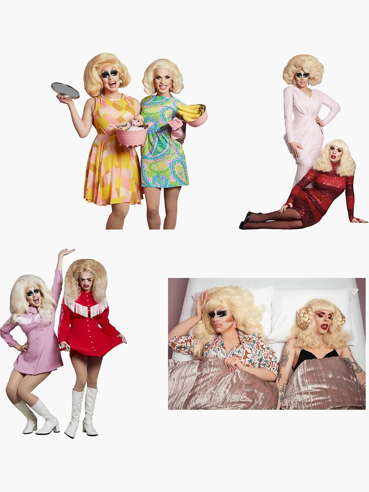 Trixie and Katya Book Photoshoot Pack UNHhh by dragraceuk