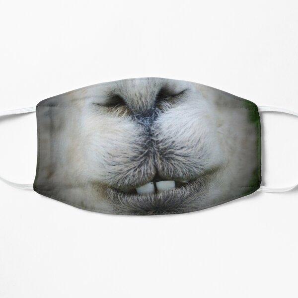 alpaca llama fun muzzle coronavirus animal face mask Flat Mask