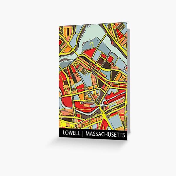 Lowell, MA Greeting Card