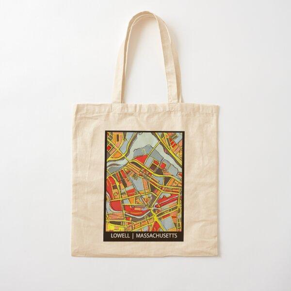 Lowell, MA Cotton Tote Bag