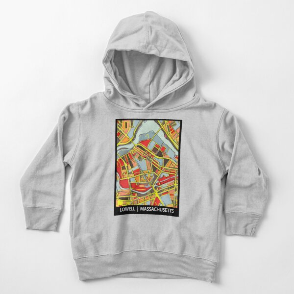 Lowell, MA Toddler Pullover Hoodie