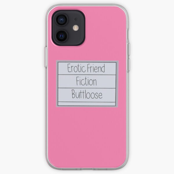 Tina friend fiction iPhone Soft Case