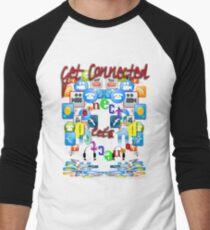Let's Get Connected Men's Baseball ¾ T-Shirt