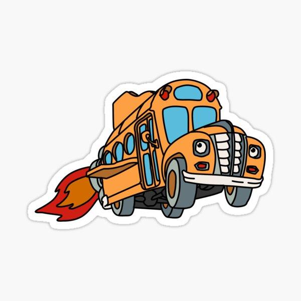 Autobus Magico / Magic School Bus Sticker