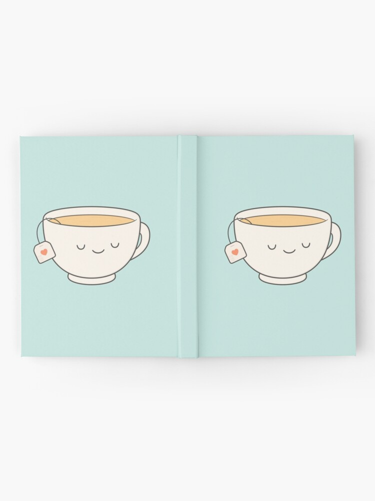 Alternate view of Teacup Hardcover Journal