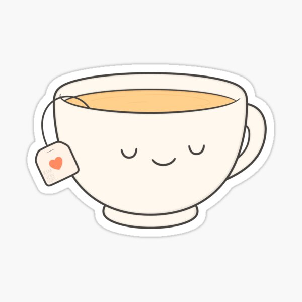 Teacup Sticker