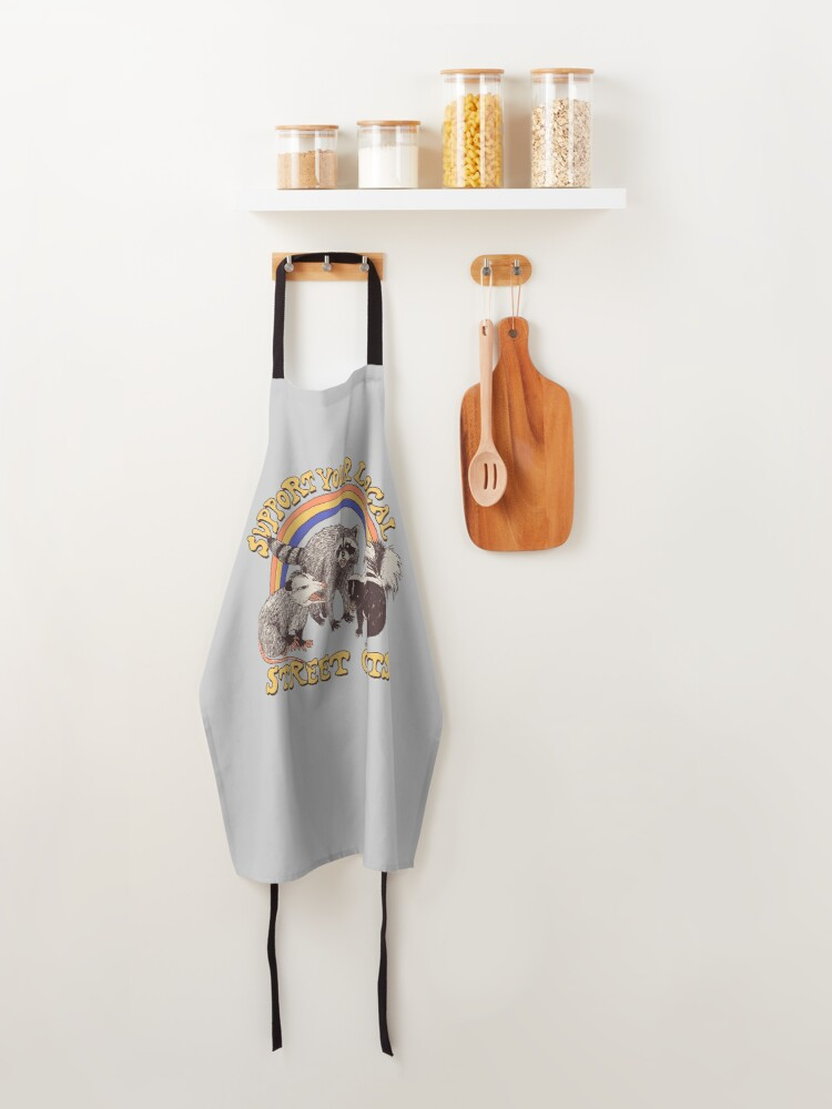 Alternate view of Street Cats Apron