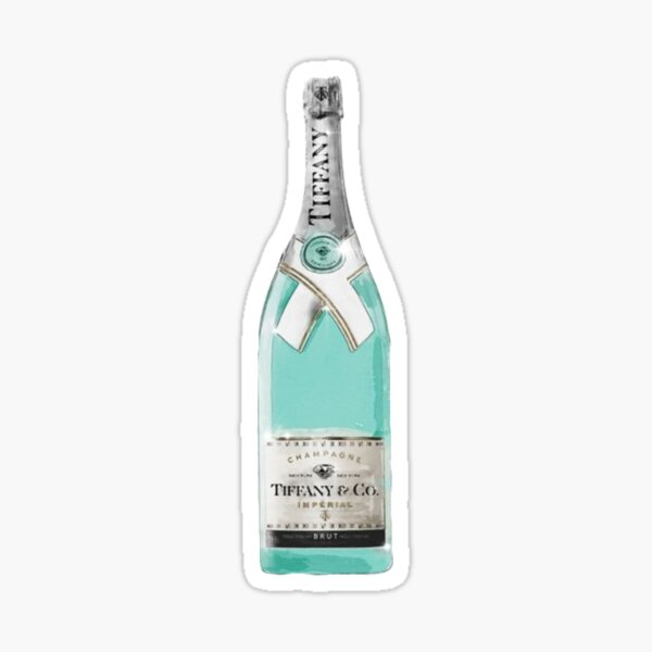 Tiffany & Co Champagne Sticker