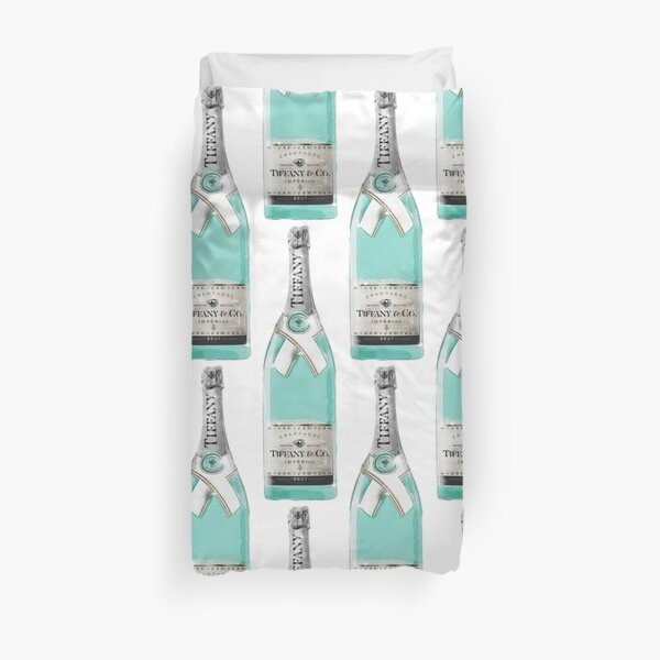 Tiffany & Co Champagne Duvet Cover