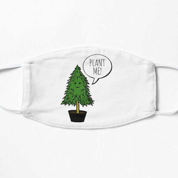 Pflanzt mehr Bäume Flache Maske