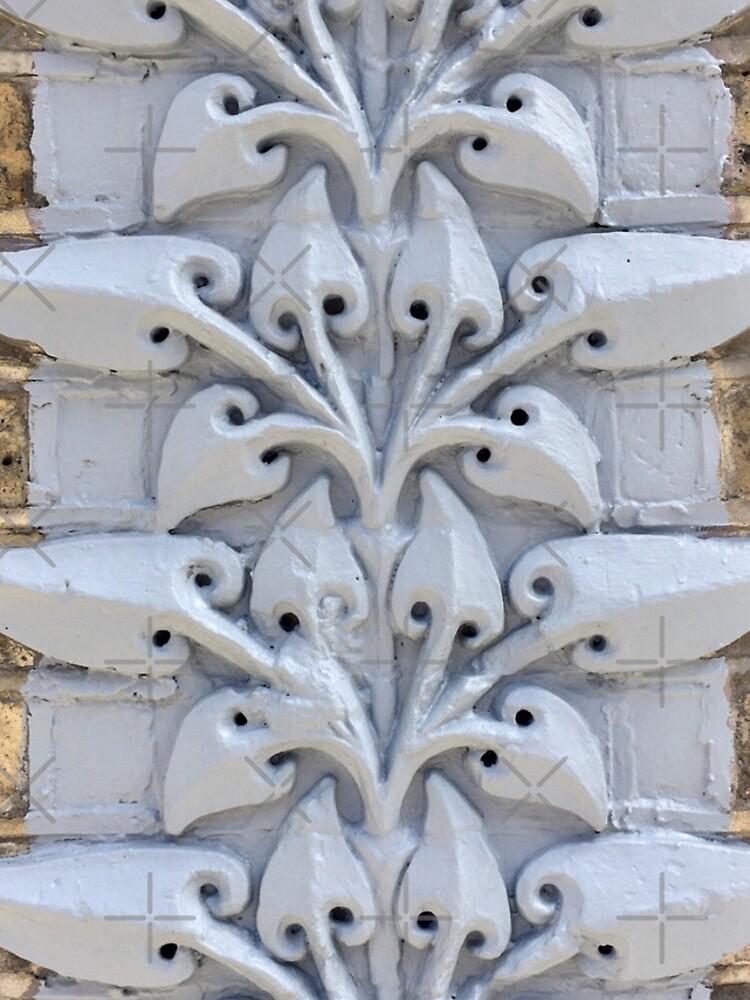 Southwark Decorative Victorian Stylised Floral Design Brickwork by billingtonpix