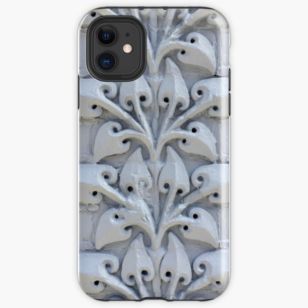 Southwark Decorative Victorian Stylised Floral Design Brickwork iPhone Case