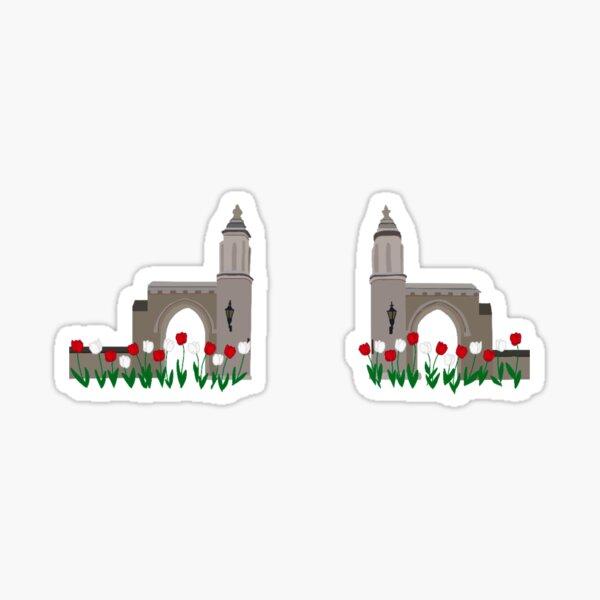 IU Sample Gates Sticker