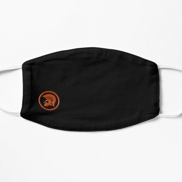 Skinhead Logo Mask orange Flat Mask