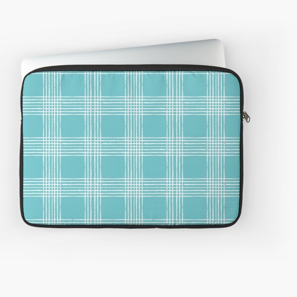 Retro Teal  Pattern Laptop Sleeve