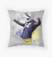 Ray Lewis  |  One Last Ride Throw Pillow