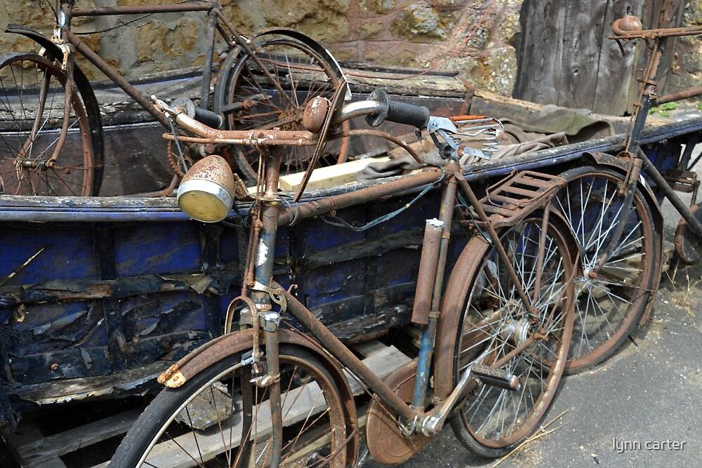 Bicycles.......... by lynn carter