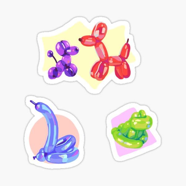 Balloon animals Sticker