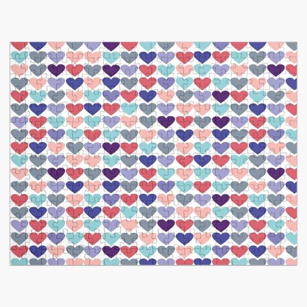 Hearts Art Deco  Jigsaw Puzzle