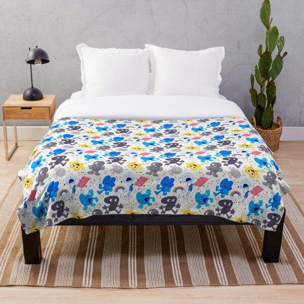 Bfdi Pattern Throw Blanket