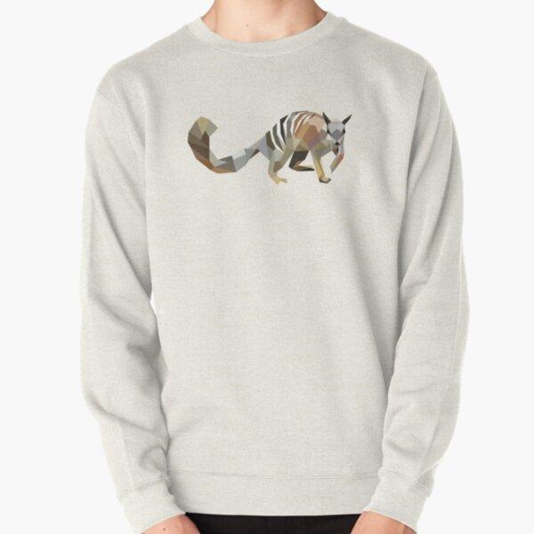 Geometric Numbat Pullover Sweatshirt
