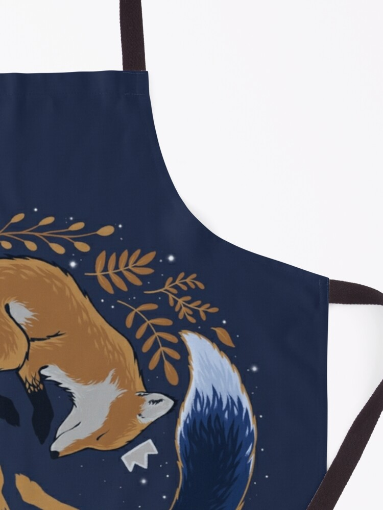Alternate view of Night foxes Apron