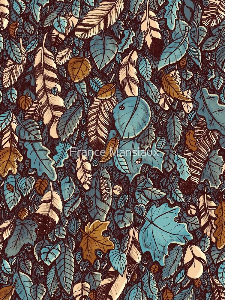 Leaves color blue by FranceMSX