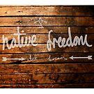 Native Freedom Wood by Alex Borsay