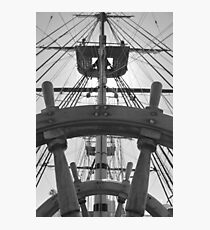 Ropes and Wheels Photographic Print