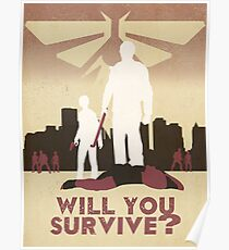 Will you Survive (FireFly Logo) Poster