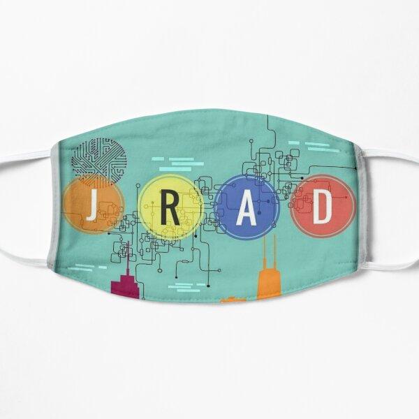 JRAD - cityscape design Flat Mask