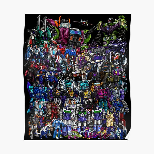 G1 Decepticons Poster