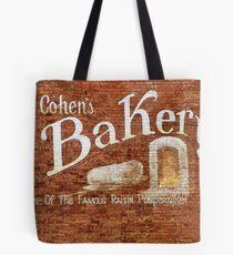 Cohens Bakery Ellenville NY Tote Bag