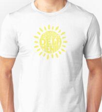 Sunny State of mind Sundried Yellow Unisex T-Shirt