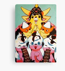 Pupcake Kingdom Canvas Print