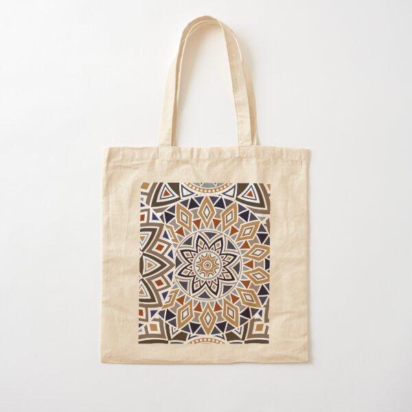 Boho Chic Mandala Design  Cotton Tote Bag