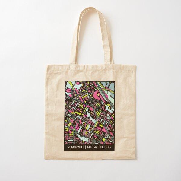 Somerville, MA Cotton Tote Bag