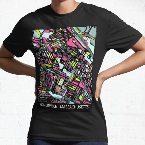 Somerville, MA Active T-Shirt