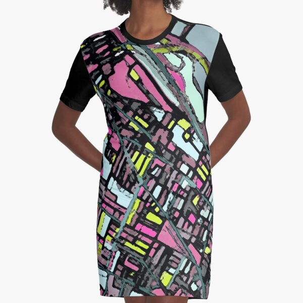 Somerville, MA Graphic T-Shirt Dress