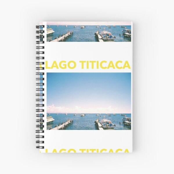 FILM: LAGO TITICACA Spiral Notebook