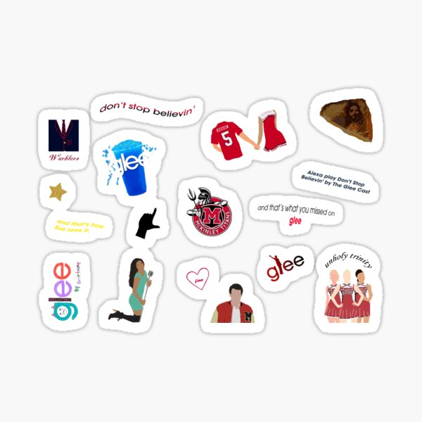 Ultimate Glee Pack Sticker