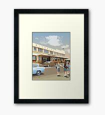 Riverina Hotel Hamilton Framed Print