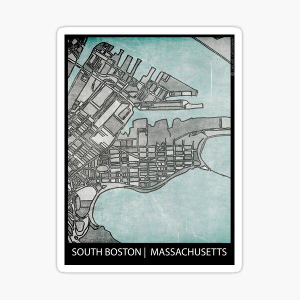 South Boston, MA Sticker