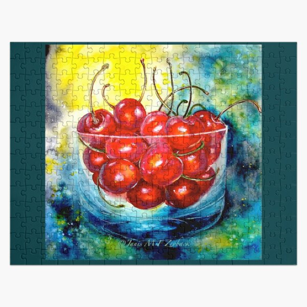 Life is Just a Bowl of Cherries Jigsaw Puzzle