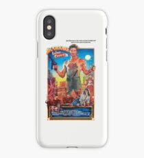 Jack Burton / Big Trouble In Little China iPhone Case