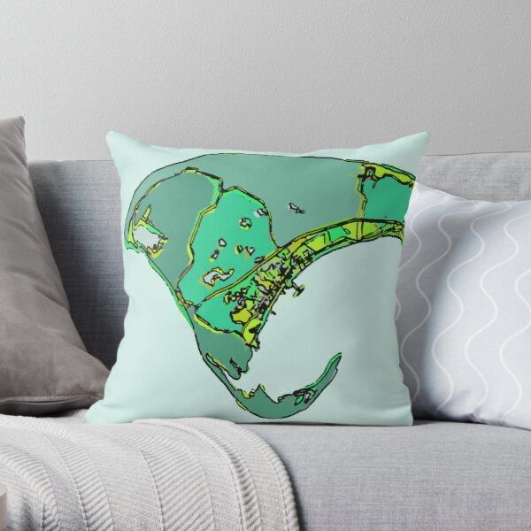 Provincetown, MA Throw Pillow