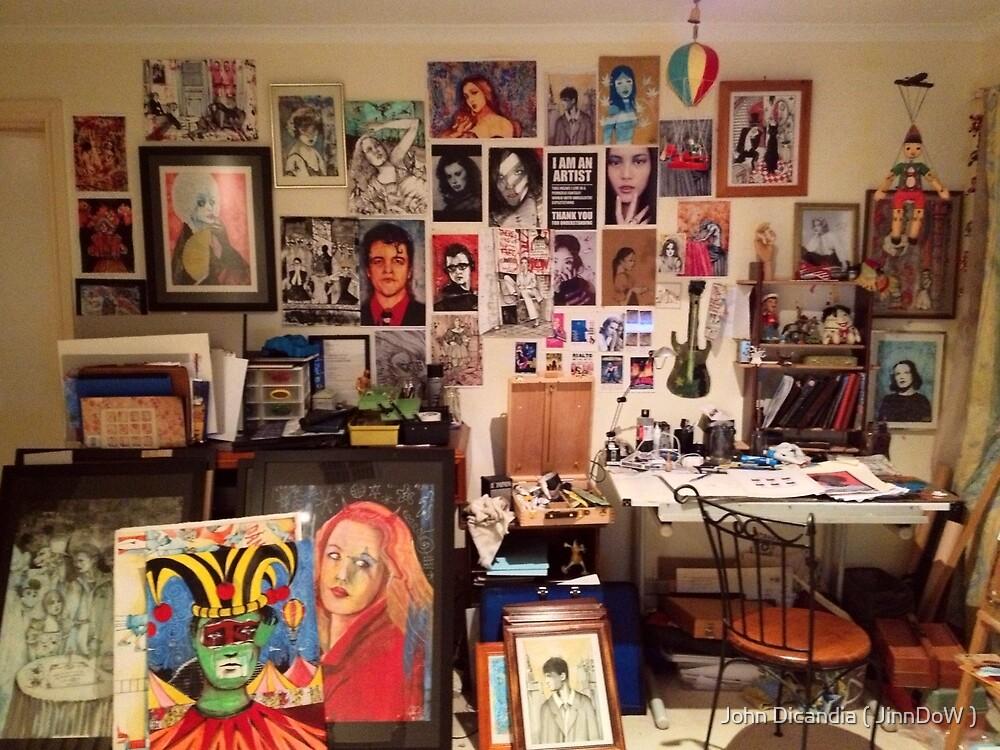 Studio 54  ( ....Burning the Midnight Oil )  by John Dicandia ( JinnDoW )