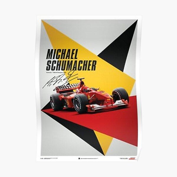 Micheal Shumacher Poster Poster