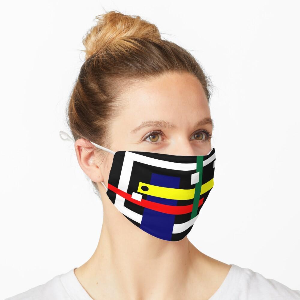 Mbranco Artist Design #1 Mask